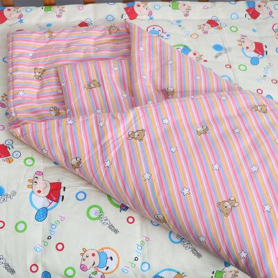 初生婴儿新生儿纯手工棉花小被子宝宝包被盖被毯纯棉秋冬加厚定制 粉色条纹8两 100cm*100cm 定制商品(定金)下单前请咨询客服,定制商品以咨询客服为准。否则本店有权不发货。