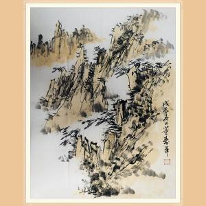 董寿平(山水)ZH309 附出版物