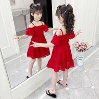 2019新款儿童装裙子夏季小女孩公主裙韩版洋气女童夏装连衣裙