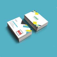 名片制作设计打印卡片定制公司商务二维码双面名片印刷创意个性广告特种纸订做