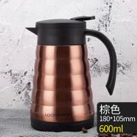 不锈钢保温壶大容量咖啡壶家用暖水壶热水瓶防漏热水壶