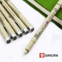 日本樱花针管笔 樱花针笔 漫画设计绘图草图笔勾线笔 01-08可任选