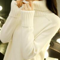 高领毛衣女秋装新款韩版宽松套头学生长袖针织打底衫秋冬百搭