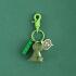 钥匙扣女可爱创意diy动物车钥匙链圈卡通恐龙公仔书包挂件ins