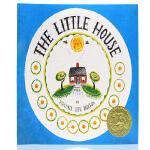 凯迪克金奖绘本 小房子The Little House 英文原版绘本汪培�E第5阶段 儿童启蒙