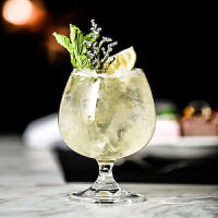 矮脚鸡尾酒杯创意白兰地杯 无铅玻璃 威士忌酒杯质感型杯金汤力杯