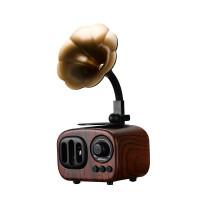 音箱 无线蓝牙音箱家用留声机重低音炮手机迷你电脑小音响钢炮便携式微信收款播报收钱语音提示器 官方标配