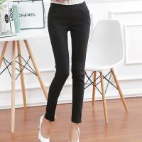显瘦九分小脚长裤子高腰女裤春季大码女士外穿打底裤春薄款G1043