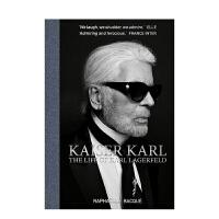 【�A�】Kaiser Karl 卡��・拉格菲��德的生活 Karl Lagerfeld 英文原版 �r尚大帝老佛��卡��・拉格