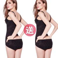 无痕连体塑身提臀衣服收腹束腰燃脂塑形女薄款美体产后减肚子