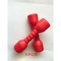 幼儿园早操器械加厚塑料有声哑铃儿童健身玩具体操舞蹈哑铃