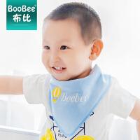 婴儿围嘴围兜儿童头巾围巾韩版口水巾宝宝棉婴儿三角巾