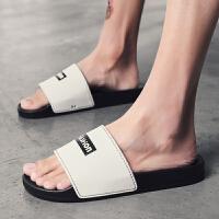 特大码一字拖鞋夏季沙滩鞋室内居家拖鞋舒适加大码男鞋