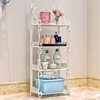 铁艺浴室置物架 落地卫生间脸盆架 洗手间厨房收纳储物层架