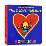 The I Love You Book 淘弟 英文原版 纸板书 Todd Parr 托德・帕尔 孩子的情商培养书系列