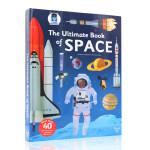 英文原版绘本The Ultimate Book of Space太空 儿童启蒙认知科普操作书 游戏精装翻翻书 5-8岁