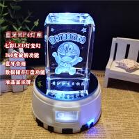 创意哆啦a梦公仔叮当猫音乐盒摆件机器猫手办送女友生日礼物六一儿童节礼物