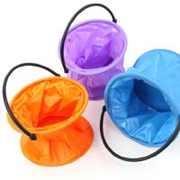 带隔层水桶 可折叠大水桶 大分格折叠水桶 多功能水桶 洗笔桶