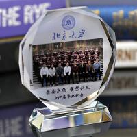 同学聚会纪念品水晶纪念品 定制同学聚会纪念品 实用相框 定做毕业礼品创意摆件