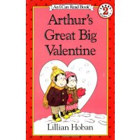 Arthur's Great Big Valentine 亚瑟的情人节(I Can Read,Level 2)ISBN