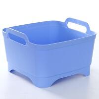 塑料洗菜盆厨房家用大号沥水盆滴漏盆洗碗盆水果盆洗菜篮子沥水篮
