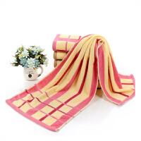 毛巾浴巾洗澡纯棉运动跑步条纹加长40*110cm柔软吸水汗男女1.1米