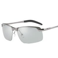 日夜两用偏光变色眼镜驾驶太阳镜男眼睛司机开车男士墨镜