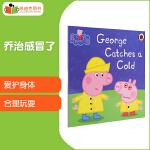 #凯迪克图书 peppa pig 小猪佩奇 George Catches a Cold 乔治感冒了 英文原版绘本 英语