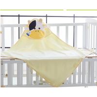 宝宝浴巾纯棉斗篷带帽浴袍吸水加大毛巾料婴儿童四季浴巾全棉卡通