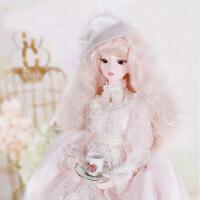 芭比娃娃 新年礼物 精品 德必胜娃娃梦幻系列新品60cm 改装娃娃玩具bjd换装娃娃送女友礼物 妮可60cm