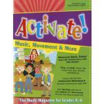 【预订】Activate!: Music, Movement & More: The Music Magazine f