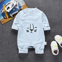 婴儿爬服婴儿连体衣春秋新生儿哈衣爬服装季婴儿衣服男女宝宝0-3-6个月XM-5