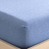 针织棉床笠 单件全棉防滑薄款床垫套1.2米1.5 1.8m席梦思床罩床单