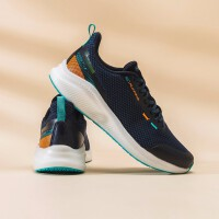 【券后预估价:142】361度男鞋跑步鞋Q弹科技网面舒适透气运动鞋 N