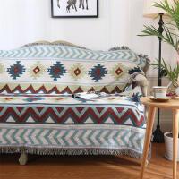 北欧沙发巾美式乡村沙发毯垫罩组合沙发盖巾地毯盖布桌布挂毯定制