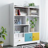 书架落地书柜书桌收纳架简约客厅办公室置物架桌上学生家用小架子