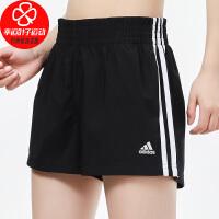 Adidas/阿迪达斯短裤女裤新款健身训练裤子运动裤宽松透气舒适休闲裤GM5549