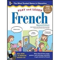 预订Play and Learn French with Audio CD