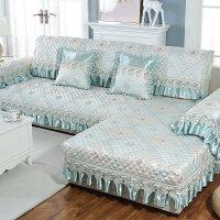 欧式沙发垫四季通用布艺防滑沙发套全包套简约现代罩全盖定制