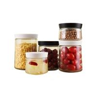 玻璃密封罐奶粉盒防潮便携宝宝奶粉罐杂粮罐