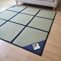 日式榻榻米地毯凉席天然蔺草折叠客厅茶几宝宝爬行垫沙发地垫定制