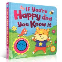 Song Sounds - If You're Happy and You Know It  有声童谣绘本 这是耳熟能详的经典童谣,歌曲中讲述的故事十分生动有趣