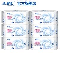 ABC护垫女新升级超薄超透气卫生巾棉柔劲吸加长163mm132片量多用