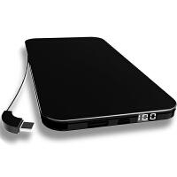 充电宝 大容量充电宝20000毫安苹果手机通用迷你移动电源vivo华为薄oppo小巧小米 AI智能升级版大容量 玫瑰金
