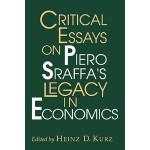 【预订】Critical Essays on Piero Sraffa's Legacy in Economics
