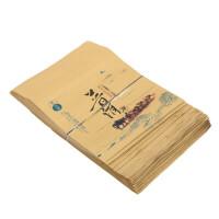 包普洱茶饼包装牛皮纸袋茶饼密封袋 牛皮纸袋自封袋白茶普洱茶铝箔袋茶叶袋子包装袋 J