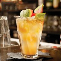 旋转直布罗陀长饮杯柯林杯海波杯玻璃果汁杯酒吧用酒杯莫吉托杯