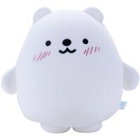 北极熊毛绒玩具抱枕冰岛之恋熊企鹅公仔靠垫纳米粒子生日礼物女孩