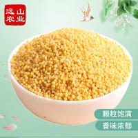 买4送1 远山农业 山西黄小米500g 小黄米粗粮杂粮小米粥 新货
