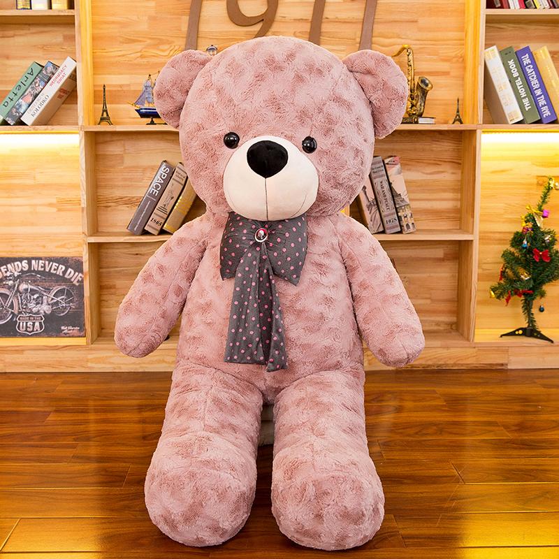 毛绒玩具泰迪猫抱抱熊公仔大号1.6米布娃娃情人节生日礼物女生 发货周期:一般在付款后2-90天左右发货,具体发货时间请以与客服协商的时间为准